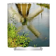Enkhuizen Windmill Shower Curtain