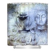 Enlightenment Shower Curtain by M Montoya Alicea