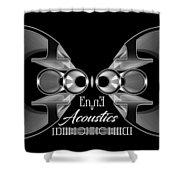 Enne Acoustics Shower Curtain