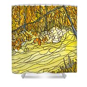Eno River #25 Shower Curtain