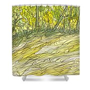 Eno River 34 Shower Curtain