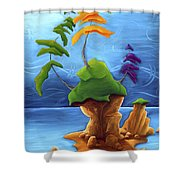 Enraptured Shower Curtain