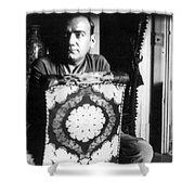 Enrico Caruso, Last Known Photo, 1921 Shower Curtain
