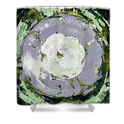 Enso Of Lavender Shower Curtain