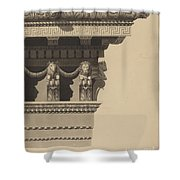 Entablature Shower Curtain