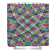 Entangled Curves One Shower Curtain
