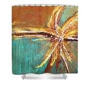 Entangled Shower Curtain