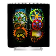 Enter Chained Melody  Shower Curtain