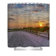 Enter Paradise- Avalon New Jersey Shower Curtain