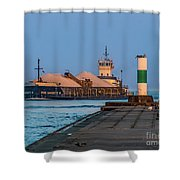 Entering Grand Haven Shower Curtain