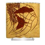 Enters - Tile Shower Curtain