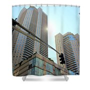 Entersection Shower Curtain