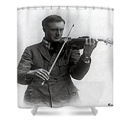 Entertainer Shower Curtain