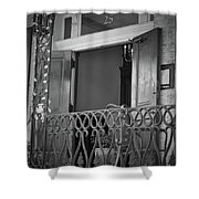 Entrance 25 Piccadilly Shower Curtain