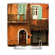 Entrance In Rome Shower Curtain