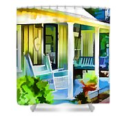 Entrance Of A House 1 Shower Curtain