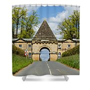 Entrance To Burghley House Shower Curtain