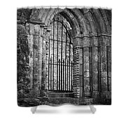 Entrance To Cong Abbey Cong Ireland Shower Curtain