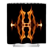 Entrance To Darkness Shower Curtain