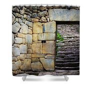 Entrance To Machupicchu Shower Curtain