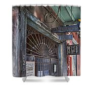 Entrance To Preservation Hall, New Orleans Shower Curtain