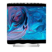 Entrance To The Blues Shower Curtain