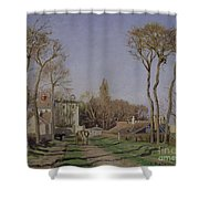 Entrance To The Village Of Voisins Shower Curtain