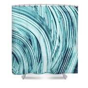 Entranced 1- Abstract Art By Linda Woods Shower Curtain