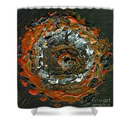 Entranced By A Fiery Vision Shower Curtain