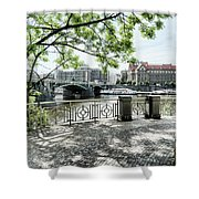 Entry To Prague Shower Curtain