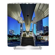 Entry To The City Shower Curtain