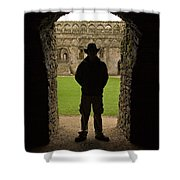 Entryway Shower Curtain