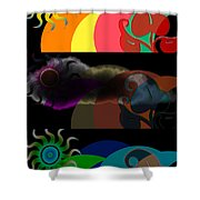 Environment Shower Curtain