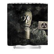 Nuclear Threat Shower Curtain