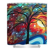 Envision The Beauty By Madart Shower Curtain by Megan Duncanson