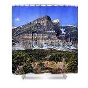 Eons Of Layers Shower Curtain