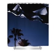 Epcot Abstract Shower Curtain