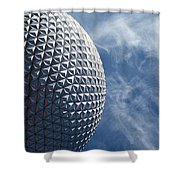 Epcot Architecture Shower Curtain