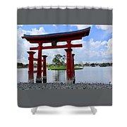 Epcot Japan Shower Curtain