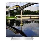 Epcot Reflections Shower Curtain