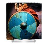 Epcot Viking Shower Curtain