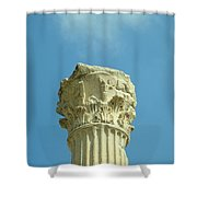 Ephesian Column Shower Curtain