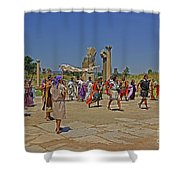 Ephesis Period Performers Shower Curtain