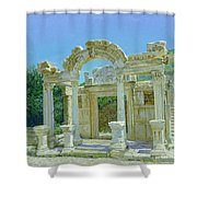 Ephesus.ruins Shower Curtain