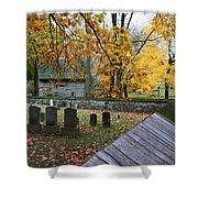 Ephrata Cloister Cemetery Shower Curtain