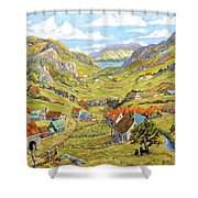 Epic Charlevoix Created By Richard Pranke Shower Curtain