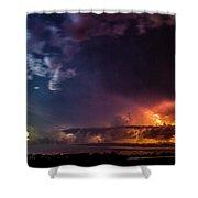 Epic Nebraska Lightning 004 Shower Curtain