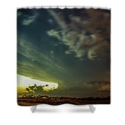 Epic Nebraska Lightning 006 Shower Curtain