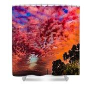 Epic Sunset Shower Curtain