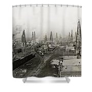 Epic Texas 1919  Shower Curtain